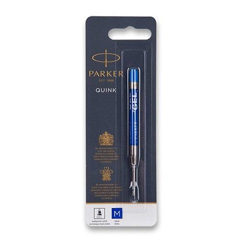 Gelová náplň Parker Royal do kuličkové tužky - M, modrá