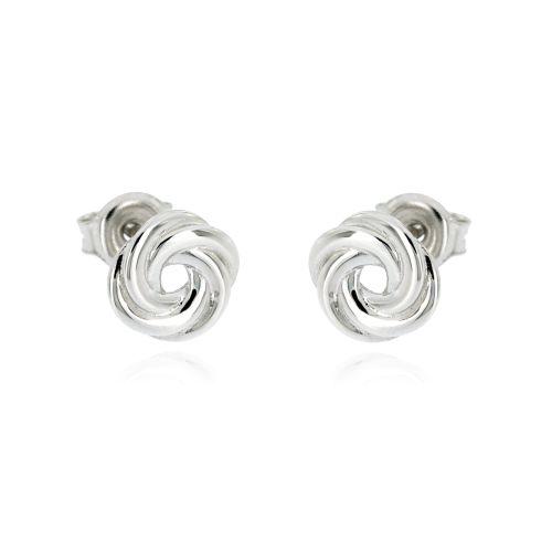 Dámské stříbrné náušnice MDD011653