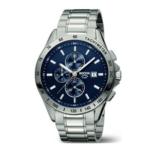 BOCCIA 3751-01, Pánské náramkové hodinky
