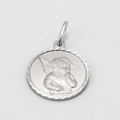 Stříbrný přívěsek andělíček M5407B