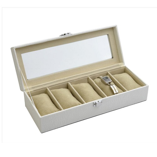 JK BOX SP-936/A20, Kazeta na hodinky krémová