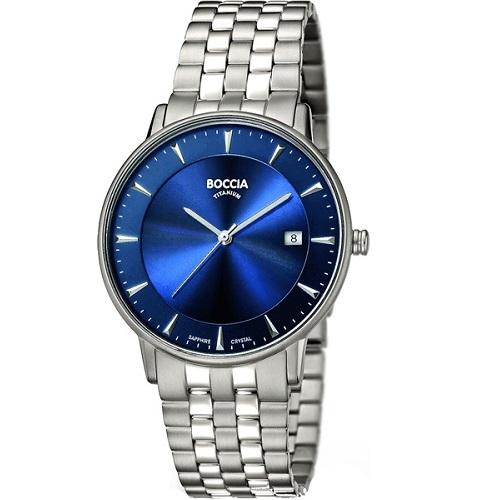 BOCCIA 3607-03, Pánské náramkové hodinky