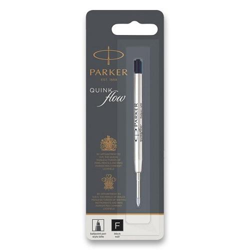 Náplň Parker Royal QuinkFlow do kuličkové tužky - F, černá