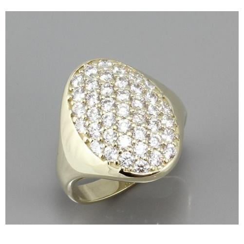 561617b2d Dámský zlatý prsten se zirkony 1901