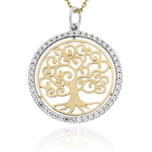 Zlatý přívěsek strom života 130SŽ