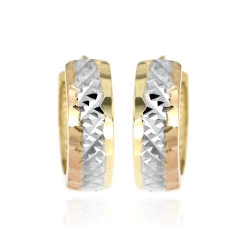 Zlaté ozdobné kroužky 5088