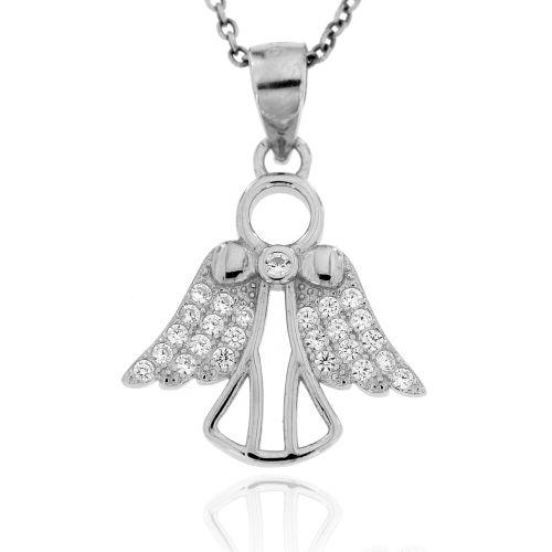 Stříbrný přívěsek anděl 5019