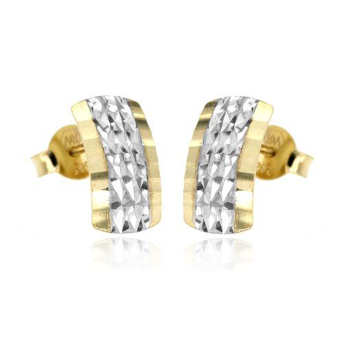 Zlaté dámské náušnice 5942