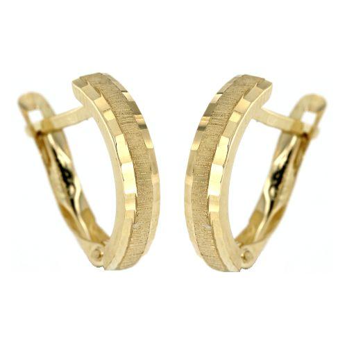 Zlaté náušnice ze žlutého zlata 4767