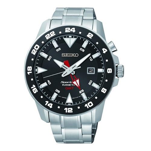 bc7342f9c SEIKO SPORTURA KINETIC SUN015P1, Pánské náramkové hodinky
