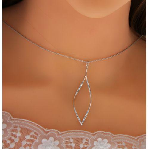 Stříbrný dámský náhrdelník MFSC1513