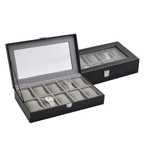 JK BOX SP-937/A25, Kazeta na hodinky černá