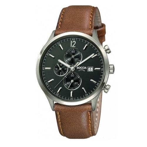 BOCCIA 3753-04, Pánské náramkové hodinky