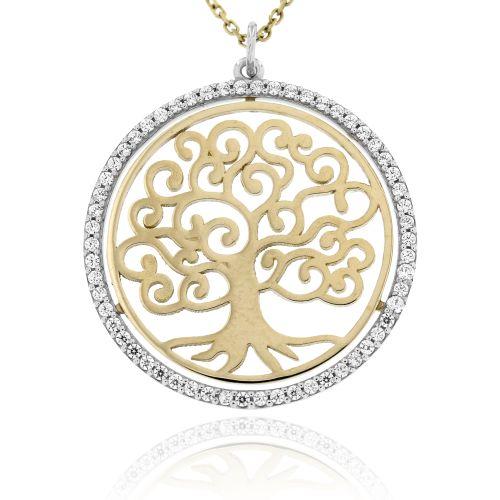 Zlatý přívěsek strom života 130VŽ