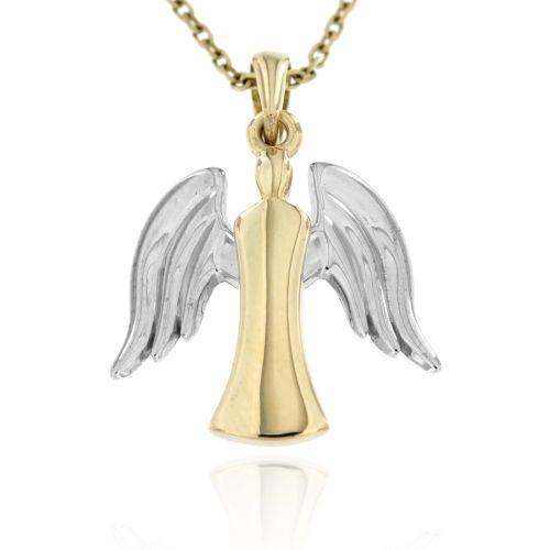 Zlatý přívěsek anděl 688