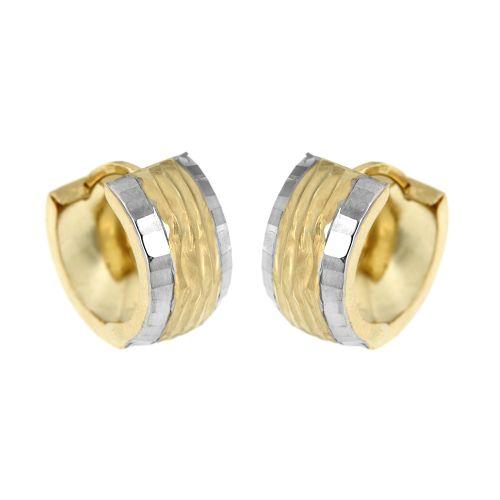 Zlaté zdobené kroužky 6164