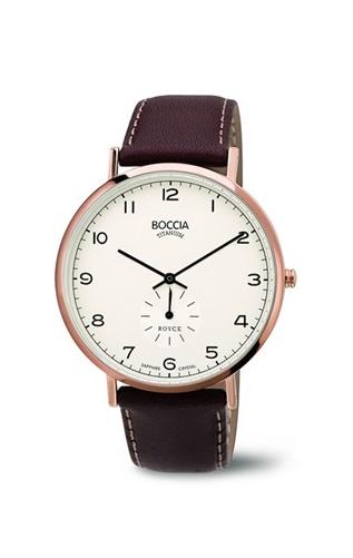 BOCCIA 3592-02, Pánské náramkové hodinky