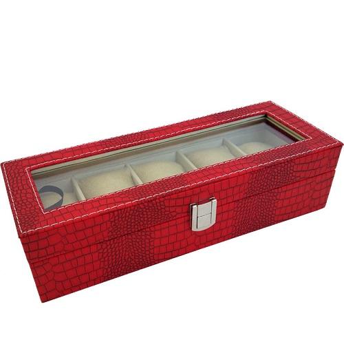 JK BOX SP-936/A7, Kazeta na hodinky červená
