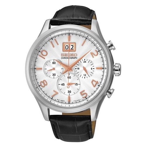 SEIKO CHRONOGRAPH SPC087P1, Pánské náramkové hodinky