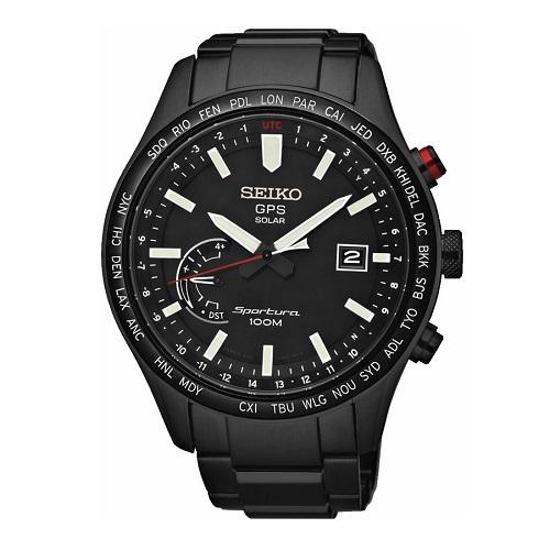 SEIKO SPORTURA GPS SSF005J1, Pánské náramkové hodinky
