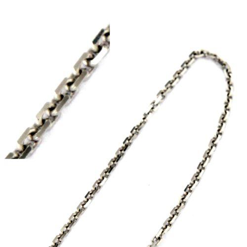 Klasický stříbrný řetízek - ankr 55 cm