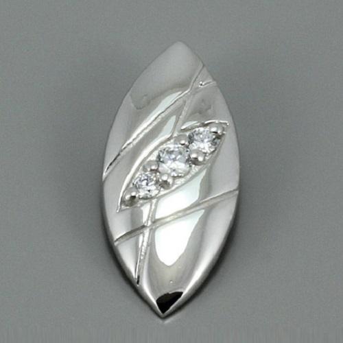 Dámský stříbrný přívěsek se zirkony 3141030