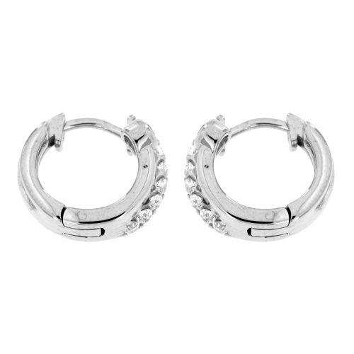 Stříbrné kroužky posázené zirkony AE10157