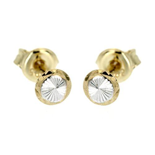Zlaté náušnice pecky 4881