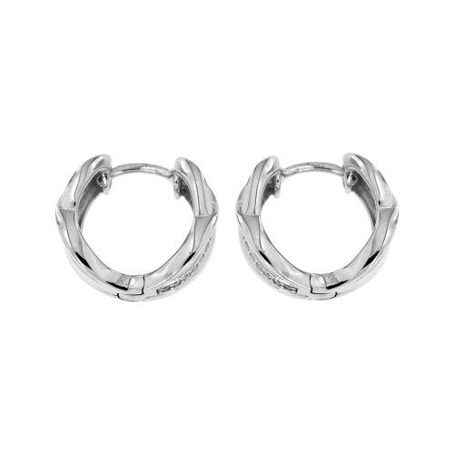 Stříbrné dámské proplétané kroužky 11568