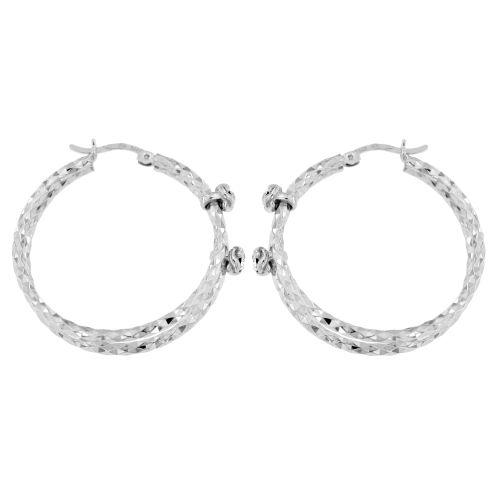 Stříbrné dámské kroužky se zirkony 1519