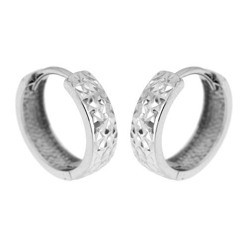 Stříbrné zdobené kroužky EDC06