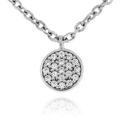 Stříbrný dámský náhrdelník 1815