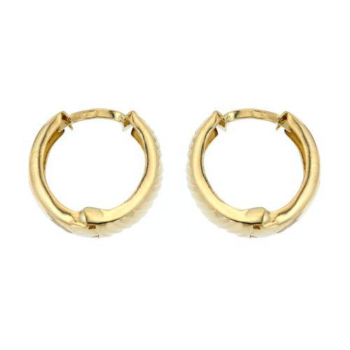 Ozdobné zlaté kroužky 6159