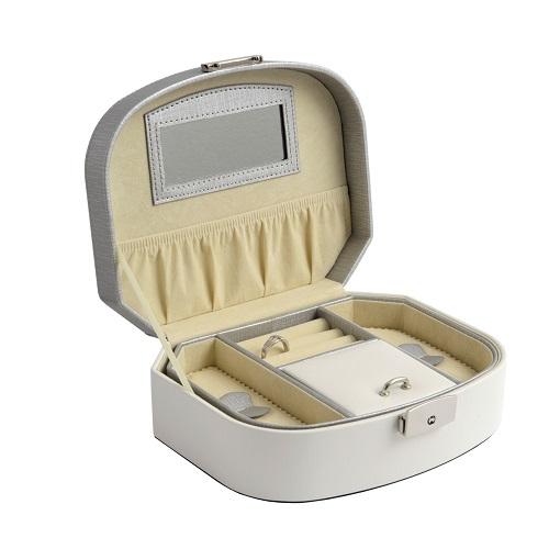 JK BOX SP-932/A20/AG, Dámská šperkovnice krémová