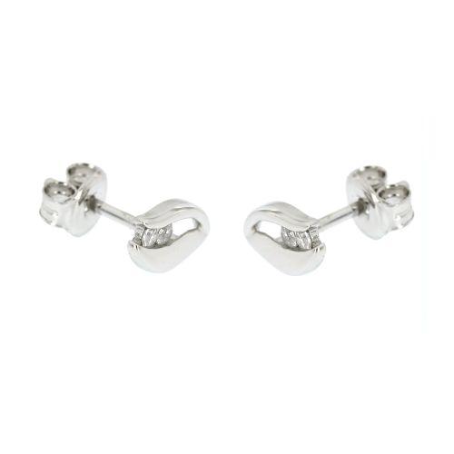 Dámské stříbrné náušnice MDC010267