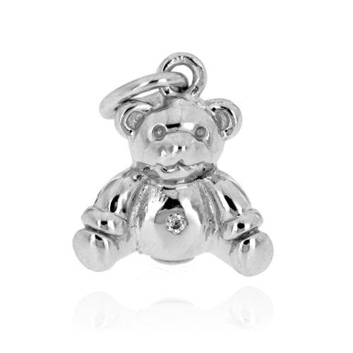 Stříbrný přívěsek medvídek 11132