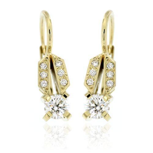Diamantové patentové náušnice33346