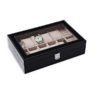 26ba4724c JK BOX SP-938/A25, Kazeta na hodinky hnědo-černá empty
